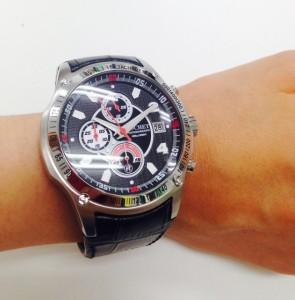 型押し時計ベルト 時計